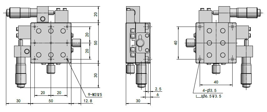 Manual XY-Axis Stage